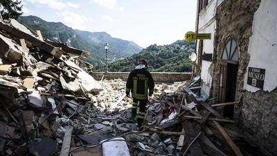 The Italian Earthquake Has Killed at Least 247 People