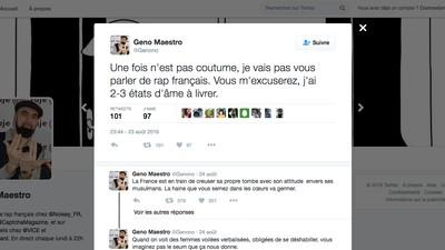 Après avoir tweeté à propos du burkini, j'ai compris que la France allait mal