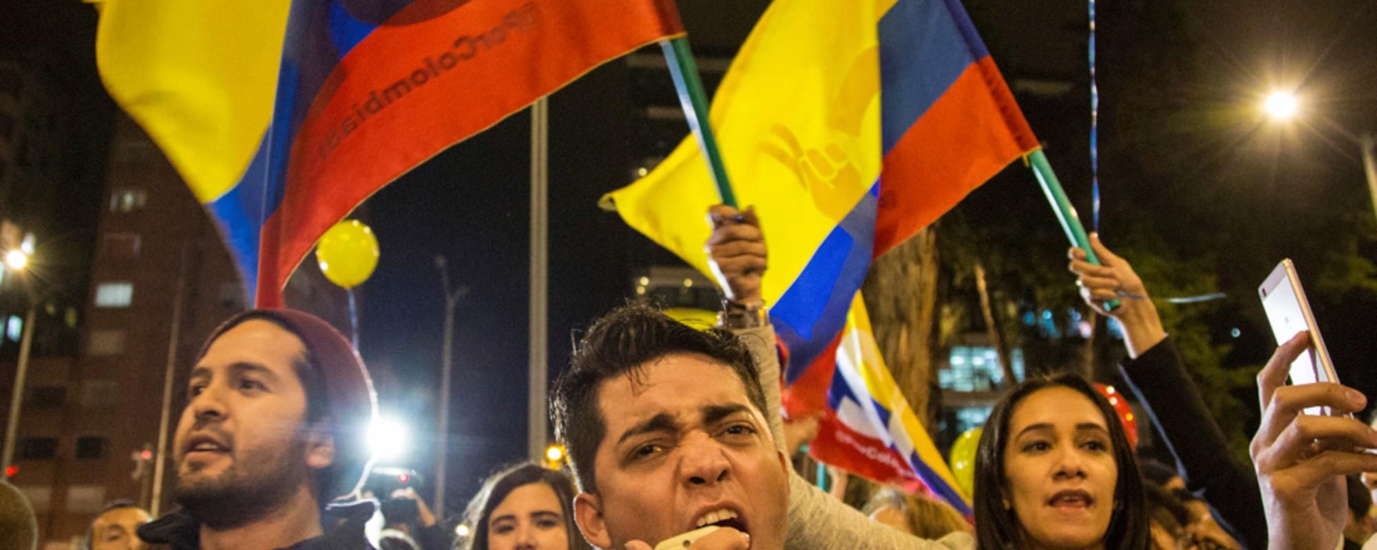Así se vivió en Bogotá el anuncio del fin de las conversaciones de paz
