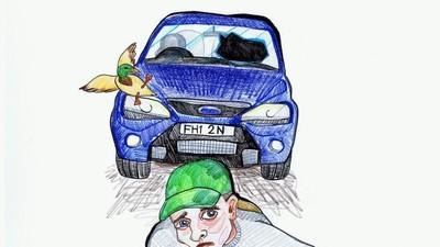 Cum e să supraviețuiești ca prin minune unui accident de mașină
