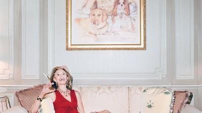 Fotografii cu o femeie obsedată de soția celui mai cunoscut președinte american