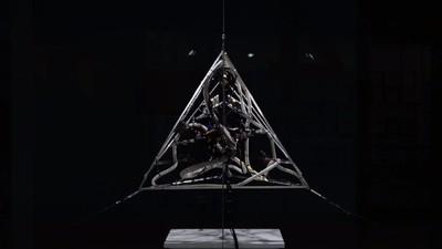 Esta pirámide puede convertir tus pensamientos en sonido