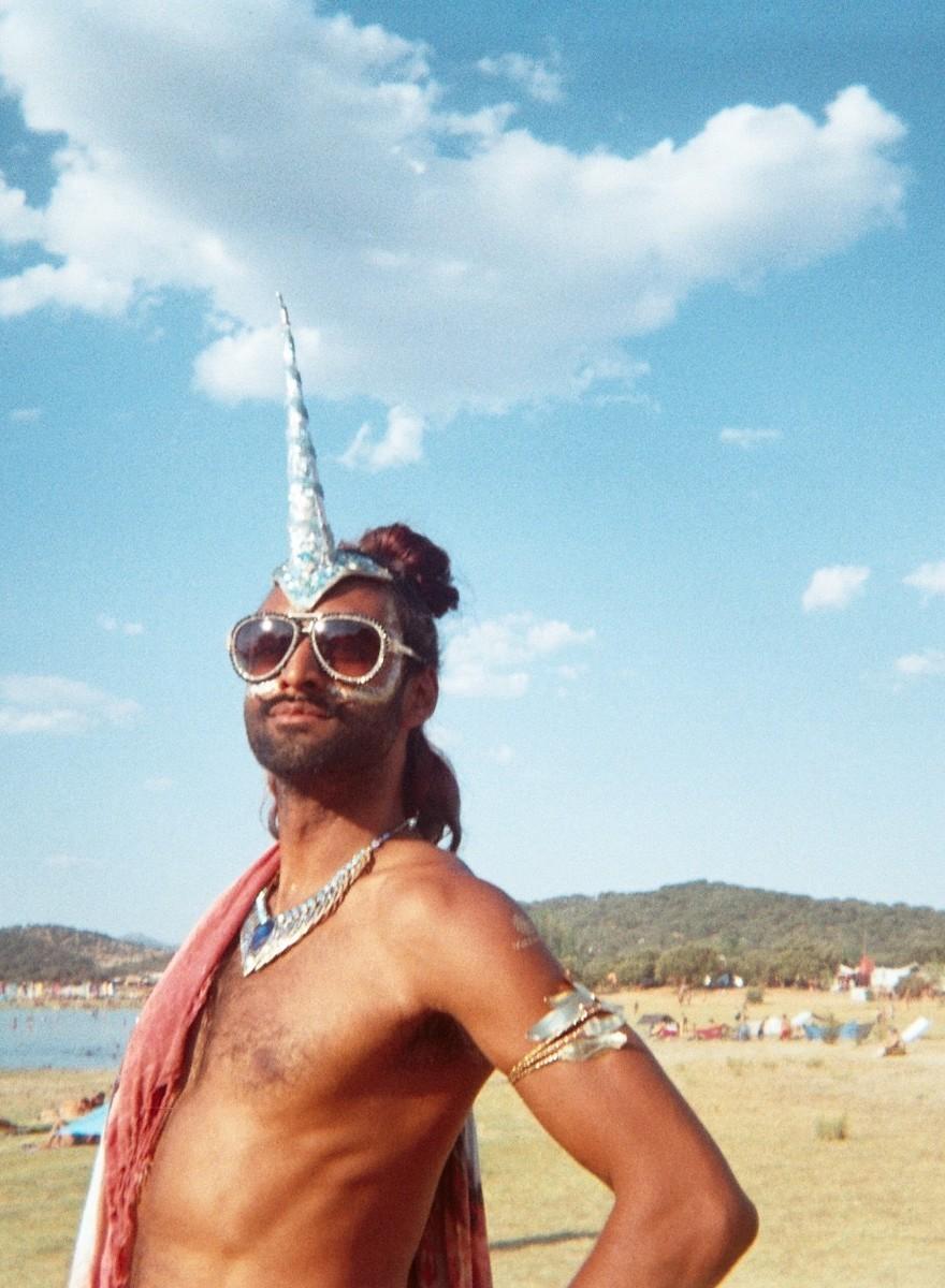 Fotos analógicas da vida alternativa no Boom