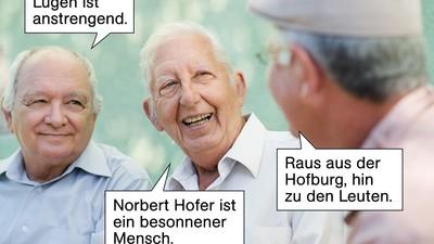 """Der Norbert Hofer-Smalltalk-Guide für alte Menschen und """"Asylkritiker"""""""
