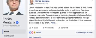 Dobbiamo parlare di Enrico Mentana