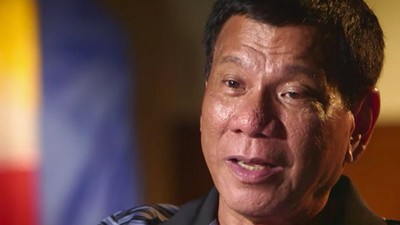 Philippines' President Rodrigo Duterte Says Drug Users 'Aren't Human'