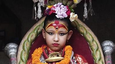 Dans la vie d'une déesse Kumari