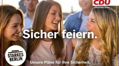 Das fragwürdigste Club-Wahlplakat kommt nicht von der FDP, sondern der CDU