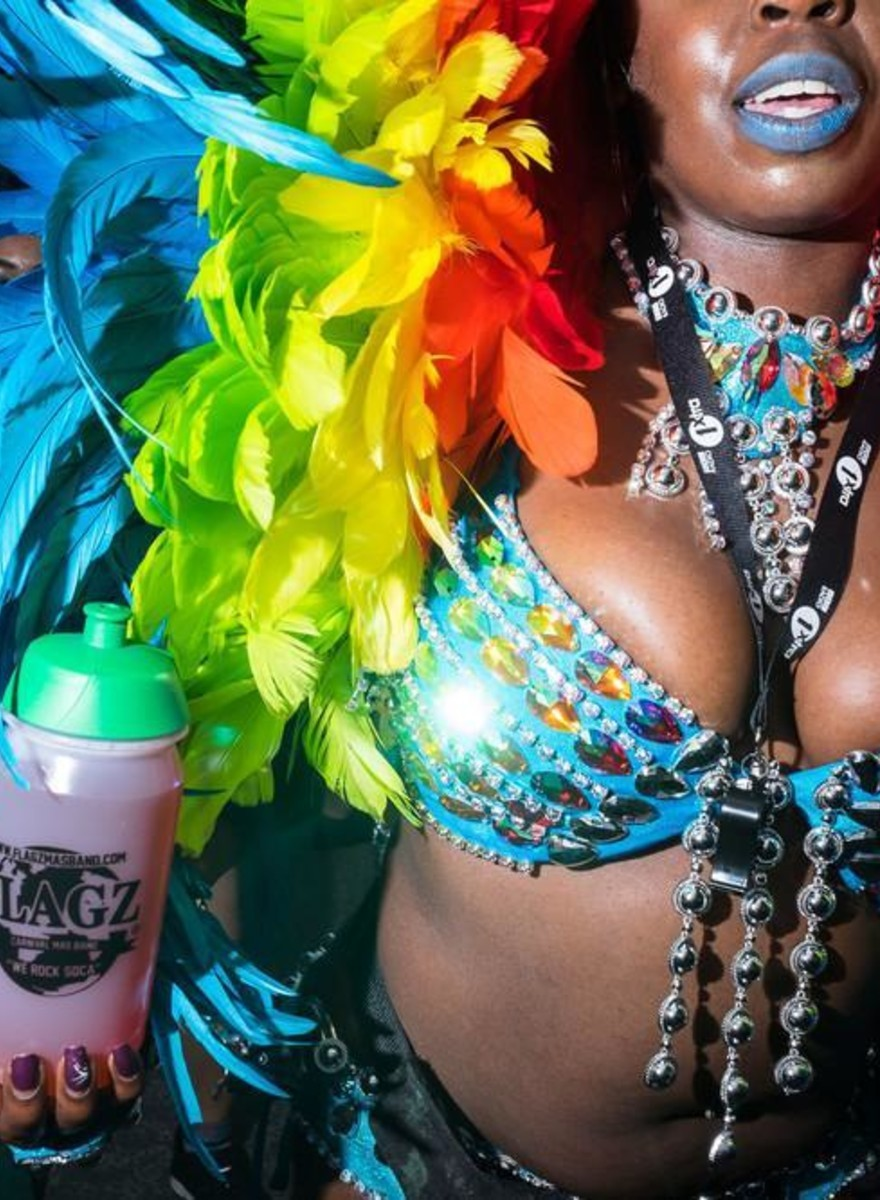La gente bonita del carnaval más escandaloso de Londres