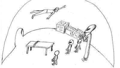 Personas que aseguran haber vivido una abducción nos dibujan su experiencia