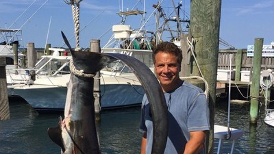 Andrew Cuomo's Massive Shark Catch Has Landed Him in Troubled Waters
