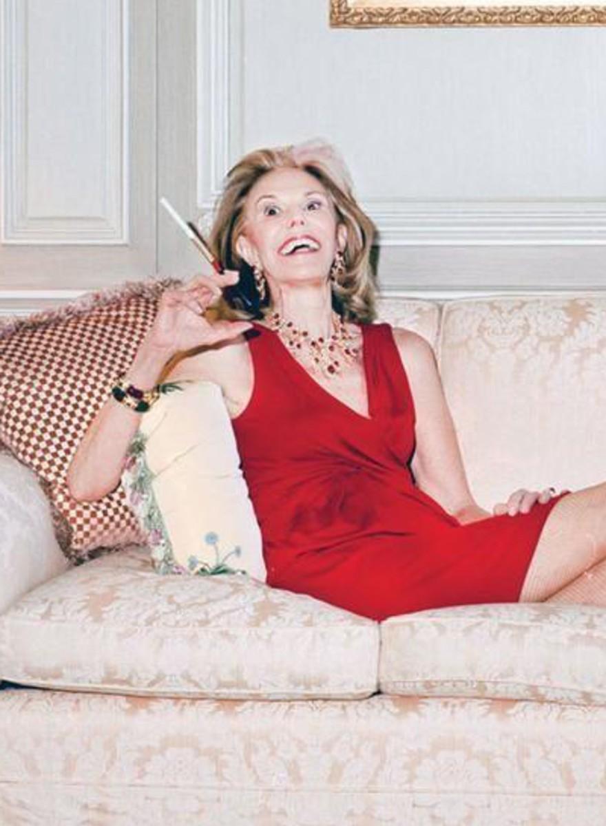 Absurde Fotos einer New Yorker High-Society-Lady