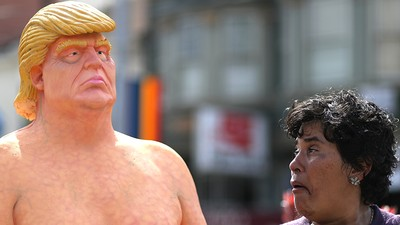 You Could Own One of Those Naked Donald Trump Statues for $20,000