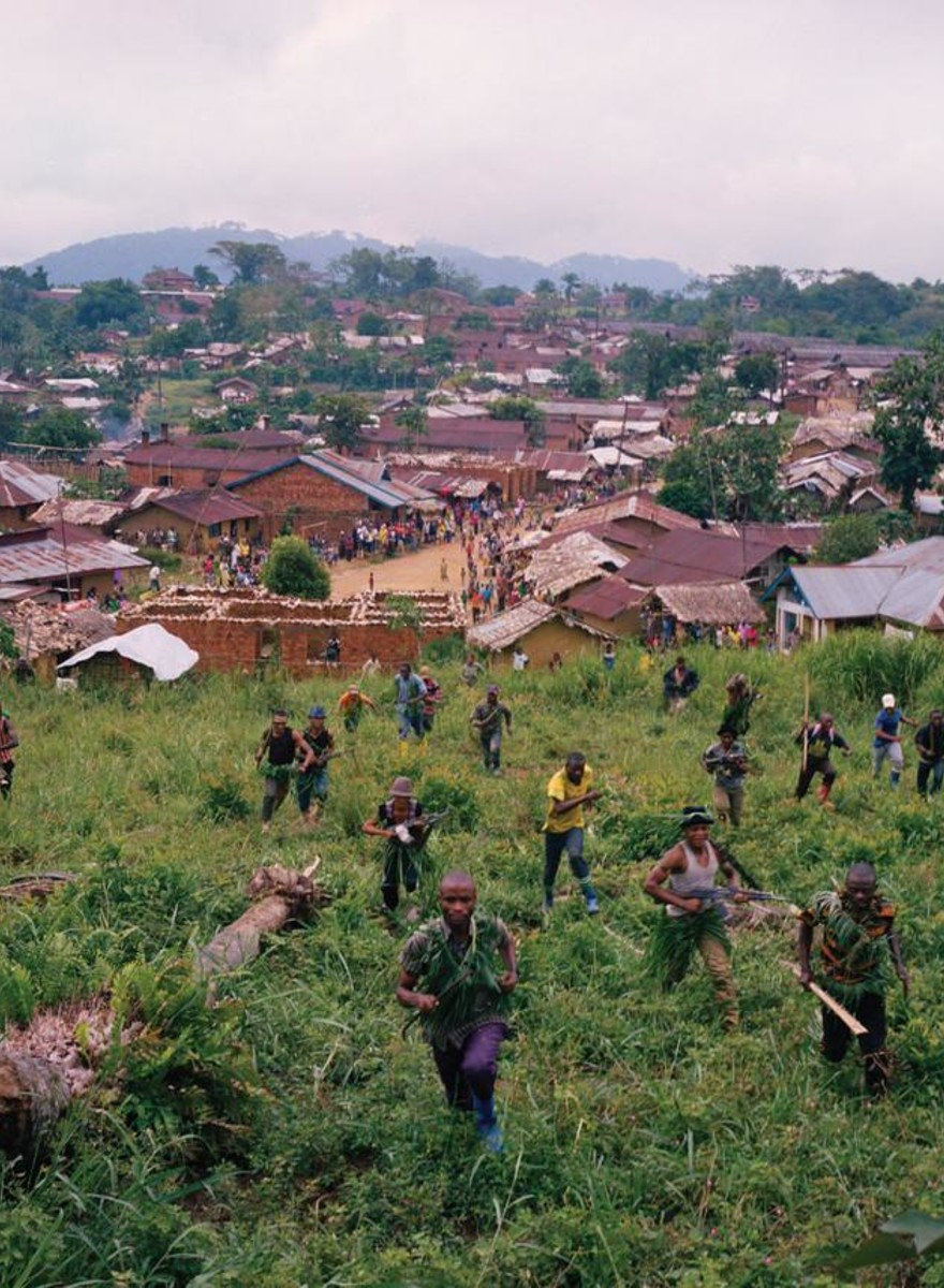 Fotos da milícia Raia Mutomboki na República Democrática do Congo