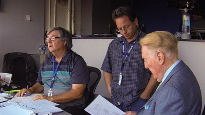 Where Baseball Announcer Vin Scully Gets His Stories
