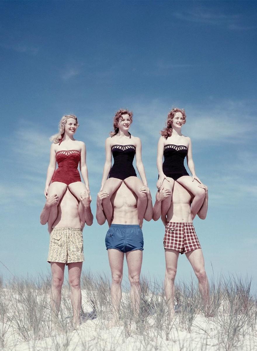 Manipulierte Vintage-Fotos, die deinen Realitätssinn verwirren
