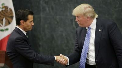 Peña no niega muro fronterizo, sólo dice que México no pagará por él
