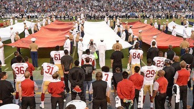 Colin Kaepernick Continues His National Anthem Protest