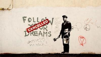 Een Britse journalist denkt dat Banksy de zanger van Massive Attack is