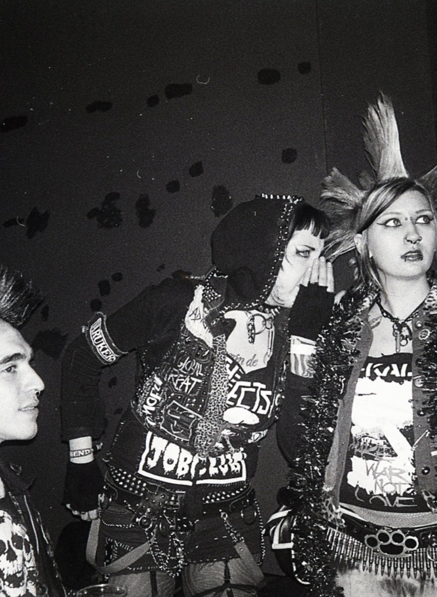 Photos That Show London's Punk Scene Is Still Alive and Spitting