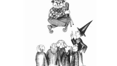 Estos son los dibujos originales que J.K. Rowling creó para Harry Potter