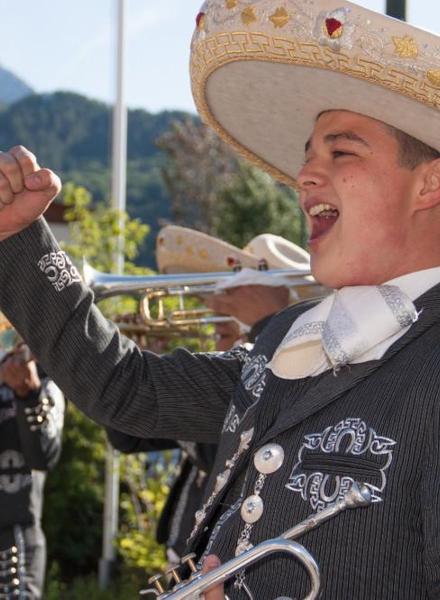 Photos of the French Mountain Town That's All About Mexico