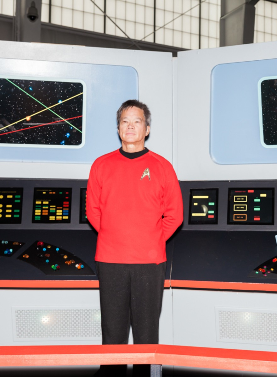 Photos of Trekkies Celebrating 50 Years of the 23rd Century