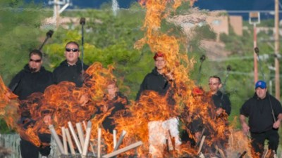 Das Burning Man Festival wurde offenbar angegriffen