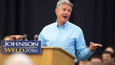 Gary Johnson Could Be the Deciding Factor in the US Election