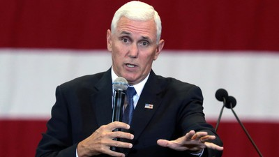 Mike Pence Doesn't Agree with Trump's Birther Talk