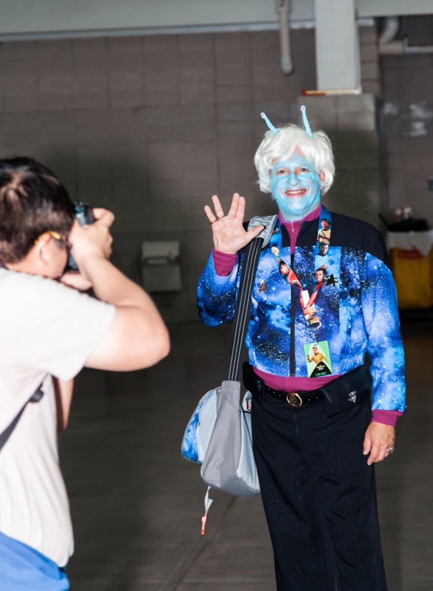 Foto's van een Star Trek-conventie in New York