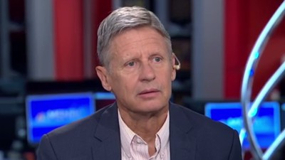 Gary Johnson Asks the Tough Questions, Like 'What Is Aleppo?'