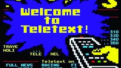 Wer zur Hölle liest heutzutage noch den Teletext?