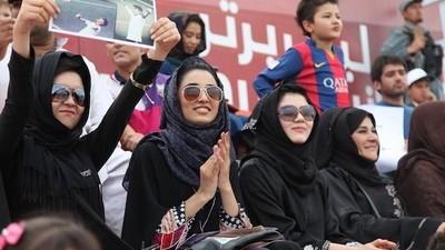 Le football au milieu des Talibans