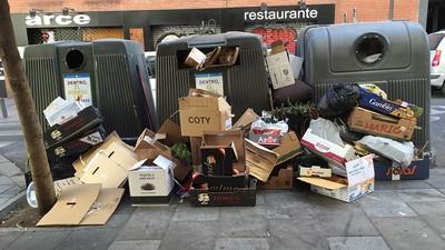 ¿Por qué rebosa mierda en las calles de Madrid?