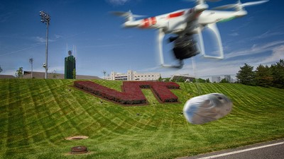 Google and Chipotle Will Start Drone-Dropping Burritos Around Virginia Tech