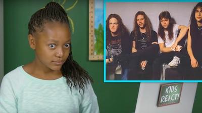Kinder werden mit Metallica konfrontiert und verstehen die Welt nicht mehr