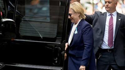 Hillary Clinton's Health Is a Campaign Issue Again After She Nearly Passed Out in Public