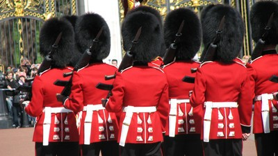 His Royal Highness: Queen's Guard Snorts 'Substance' While On Duty