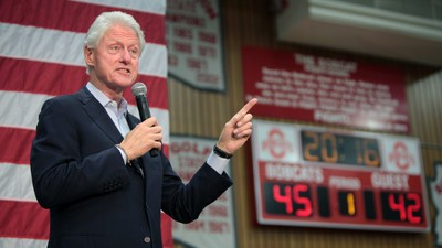 Bill Clinton Is 'Almost Certain' Hillary Is Healthier Than Donald Trump