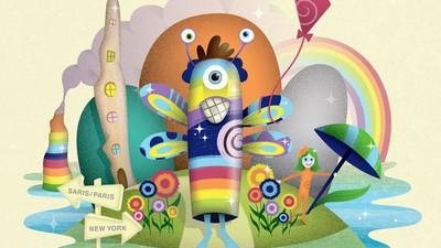 Artistas profesionales recrean dibujos hechos por niños