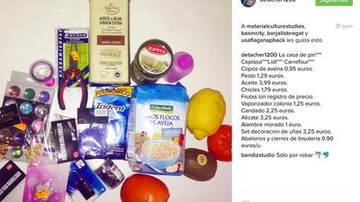 Hablamos con la instagramer española que sube fotos de cosas robadas