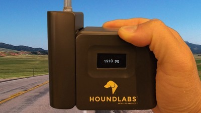 Can This Breathalyzer Help Cops Know if Drivers Are Actually High?