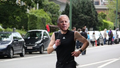 Joe Biden Thinks He'd Leave Donald Trump in the Dust if They Went for a Jog