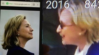 La teoria del complotto secondo cui Hillary Clinton sarebbe stata sostituita da un sosia