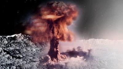 Der Moment, als die USA den Mond bombardieren wollten