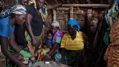 L'étonnant marché des réfugiés de Ngam