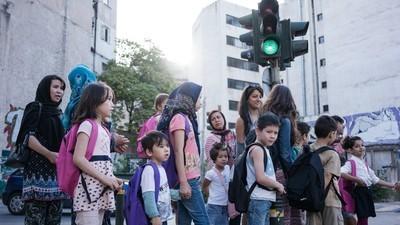 We Accompanied Refugee Children on Their First Day of School