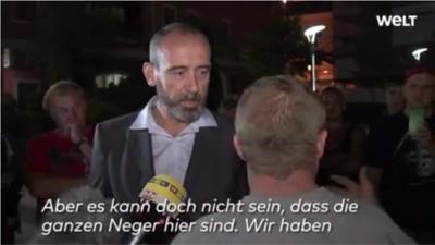 Video: Wie Bautzener Bürger über Flüchtlinge hetzen