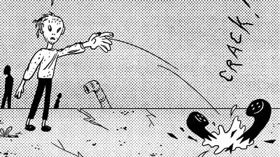 'Teenage Trouble,' Today's Comic by Michel Esselbrugge
